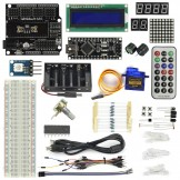 SainSmart Nano V3+5V Servo motor Starter Kit With Basic Arduino Projects