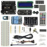 SainSmart Nano V3+Prototype Shield  Starter Kit With 17 Basic Arduino Projects
