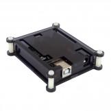 SainSmart UNO R3 ATmega328P Development Board + USB Cable + Black Transparent Hard Case Enclosure, Compatible With Arduino