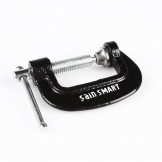 SainSmart Ductile Iron C-Clamp Plated Steel Screw Sliding Pin Hand Tool 1 inch to 10 inch