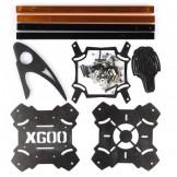 x525 600mm X600 V3 Glass Fiber Frame QuadRotor 4 axis QUADX Multi RC KK MK UFO