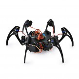 SainSmart Hexapod 6 Legs Spider Robot with SR317 Servo Motor & Remote Control & Control Board