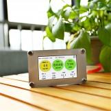 New Laser PM2.5 Detector, PM1.0 PM10 test, Formaldehyde CO2 TVOC Temp&Humidity Measurement AQI