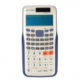 SainSmart Vecus V1 Solar Science Calculator Blue With Cover Brand New for TI-84