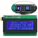SainSmart IIC/I2C/TWI Serial 2004 20x4 LCD Module Shield for Arduino Raspberry Pi