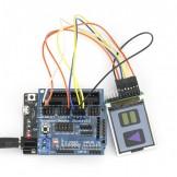 Sainsmart Leonardo R3+1.8''LCD Display +Sensor Shield V5 Module For Arduino Robot