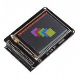 "SainSmart 2.8"" TFT LCD Touch Screen Display + 5"" TFT/SD Shield for Arduino Mega2560 R3"