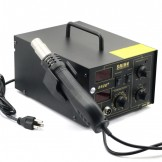 Saike 852D+ Hot Air Gun & Digital Soldering Iron 2 in 1 System