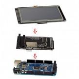 """SainSmart MEGA2560+4.3"""" LCD Touch Panel SD Card Slot + Shield Kit For Arduino"""