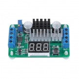 SainSmart LTC1871 3.5V-30V DC Volt Converter Module Step-up 5V/12V Regulated Voltage Supply, Blue LED Volmeter Display