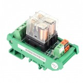 SainSmart DIN Rail Mount SPDT Power Relay Interface Module OMRON