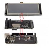 """SainSmart MEGA2560 R3 + 4.3"""" LCD Touch Panel SD Card Slot + Shield Kit For Arduino"""