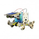 SainSmart Jr.Creative DIY Assemble 14 in 1 Educational Solar Transformers Robot Kit Toy Christmas Gift