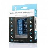 Sainsmart 4-Channel 5V Relay Module for PIC ARM AVR DSP Arduino MSP430 TTL Logic DE Shipping