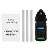 SainSmart DT2234C Digital Laser Type LED Laser Non-contact RPM Tachometer