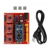 SainSmart CNC Shield V4 + Nano V3.0 + 3 xA4988 Reprap Stepper Drivers Kit for Arduino DIY