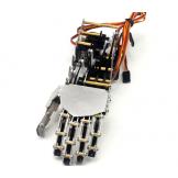 DIY 5DOF Robot Humanoid 5 Fingers Metal Manipulator Arm Left Hand w/Servos for Robot