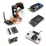 SainSmart DIY 6-Axis Servo Control Robot Arm Combo kit with Remote Control Shield for Arduino MEGA2560 ★Year-end Sale! Act quickly before it's too late.★