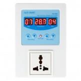 SainSmart RC100A Digital Temperature Controller Thermostat, AC110V-240V, 1 Relay with Sensor, 9℃ to 99℃