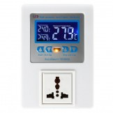 SainSmart RC200A Digital Temperature Controller Thermostat, High Precision with LCD Display, AC110V-240V, 1 Relay with Sensor, 50℃ ~110℃