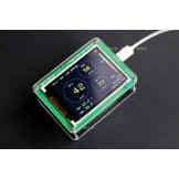 PM2.5 Detector Air Quality Monitoring PM2.5 Dust Haze Measuring Sensor TFT Display with Bluetooth