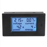 Durable LCD Digital Volt Watt Power Meter Ammeter Voltmeter
