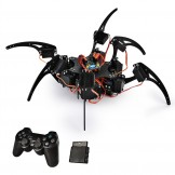 SainSmart Hexapod 6 Legs Spider Robot with SR318 Servo Motor & Remote Control & Control Board