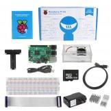 SainSmart Raspberry Pi 3 Ultimate Kit : Case with Fan + 8GB SD + Breadboard + HDMI + 40 Pins GPIO +Aluminium Heatsink