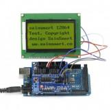 SainSmart MEGA2560 + Sensor V5 + LCD12864 Yellow for Arduino UNO MEGA R3 Mega2560 Duemilanove Nano Robot