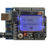 SainSmart UNO + SainSmart Graphic LCD4884 Shield For Arduino