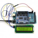 SainSmart MEGA, ATmega2560 + SainSmart Sensor Shield V5+IIC 1602 Y-G Module Display For Arduino Robot