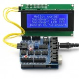 SainSmart UNO +Sensor Shield V4 Module + LCD2004 for Arduino UNO MEGA R3 ATMEL AVR