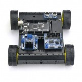 SainSmart Mega 2560 R3 4WD Mobile Car Robot Kit For Arduino