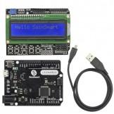 SainSmart Leonardo R3 + LCD 1602 Keypad V3 For Arduino