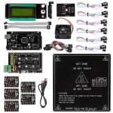 SainSmart Ramps 1.4 + A4988 + Mega2560 R3 + Endstop + Cooler Fan Kit For RepRap 3D Printer