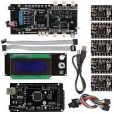 Mega2560+ Smart LCD 2004 Controller A4988 +  Ultimaker 1.5.7 3D Printer Kit For RepRap