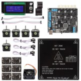 Megatronics V2.0 + A4988 + Mega2560 R3 + LCD2004 3D Printer Controller Kit For RepRap