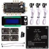 SainSmart Sanguinololu 1.3 + LCD 2004 Controller + A4988 For 3D Printer Reprap