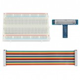 GPIO Breakout Expansion Kit for Raspberry Pi 26-pin GPIO Cable Breadboard GPIO adapter