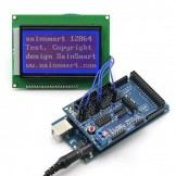 SainSmart Mega2560+12864 LCD+Sensor Shield V5 Kit For AVR ATmega8U2