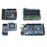 Sainsmart  Arduino Mega ATmega2560 + SainSmart Sensor Shield V4 + SainSmart XBee Shield + SainSmart LCD Keypad Shield for Arduino UNO MEGA R3