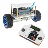 SainSmart InstaBots Upright Rover Kit Pro Updated 2-Wheel Self-Balancing Arduino Robot Kit