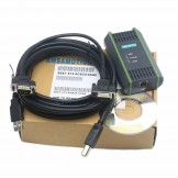 Programming Cable for 6ES7972-0CB20-0XA0 S7-200/300/400 PLC PC USB MPI 64bit PC Adapter USB A2 Cable
