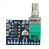 Mini PAM8403 5V Digital Amplifier Board USB Power Supply
