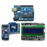 SainSmart UNO, ATmega328p + SainSmart LCD Keypad Shield + SainSmart XBee Shield For Arduino