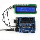 SainSmart UNO R3+ Sensor V5 + IIC LCD1602 Module Display For Arduino UNO MEGA R3