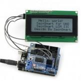 SainSmart UNO R3+ Sensor V5 + LCD2004 White for Arduino UNO MEGA R3 Mega2560 Duemilanove Nano Robot