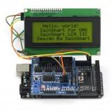 SainSmart 2560 R3+ Sensor V5 + LCD2004 Yellow For Arduino UNO MEGA R3 Mega2560 Duemilanove Nano Robot