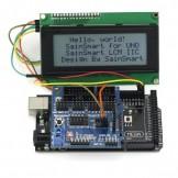SainSmart 2560 R3+ Sensor V5 + LCD2004 White For Arduino UNO MEGA R3 Mega2560 Duemilanove Nano Robot