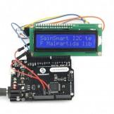 SainSmart Leonardo R3 ATMEGA32U4 + IIC LCD 1602 +USB Cable Kit For Arduino